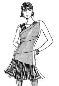 платье кимоно выкройка