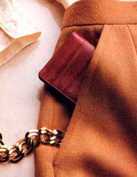 карман с подкройным бочком