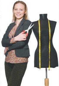 Снятие мерок для построения чертежа женской одежды