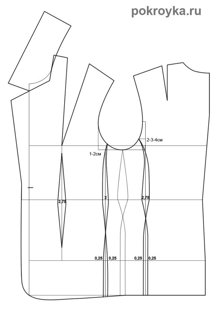 выкройки мужского пиджака и выкройка.  Автор:Admin.