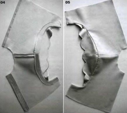 Декорирование проймы в одежде