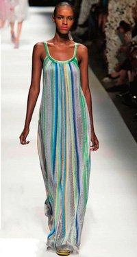 Выкройка летнего платья длиной макси
